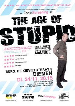 'The age of stupid' in Diemen